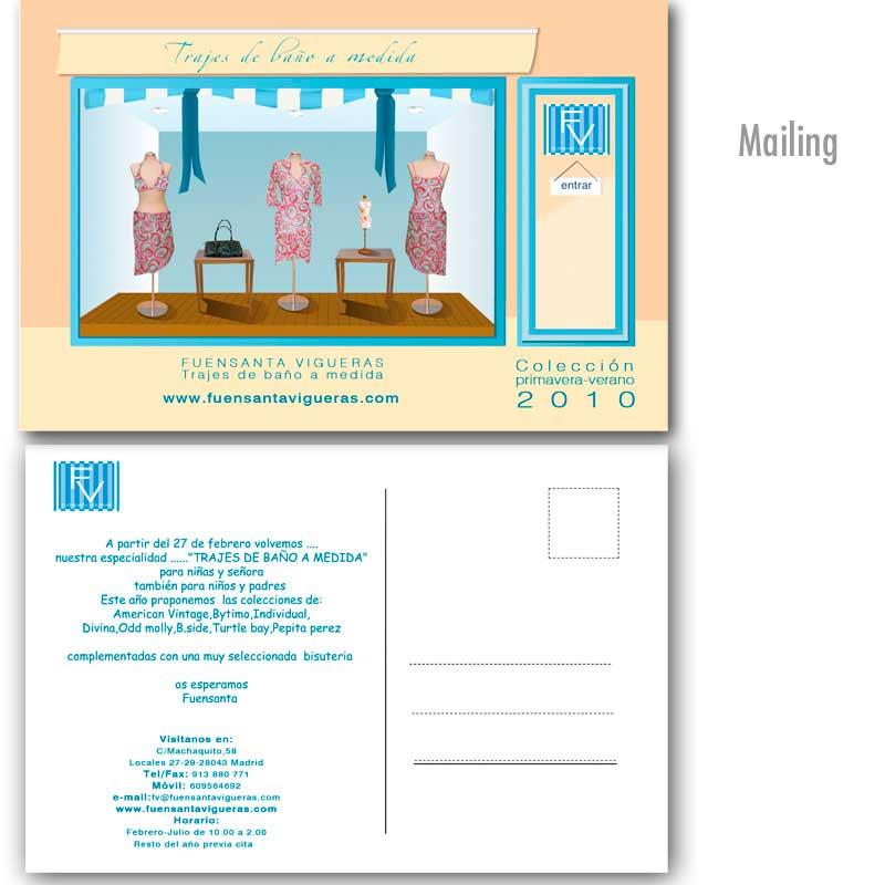 Mailing bañadores a medida FV 2010