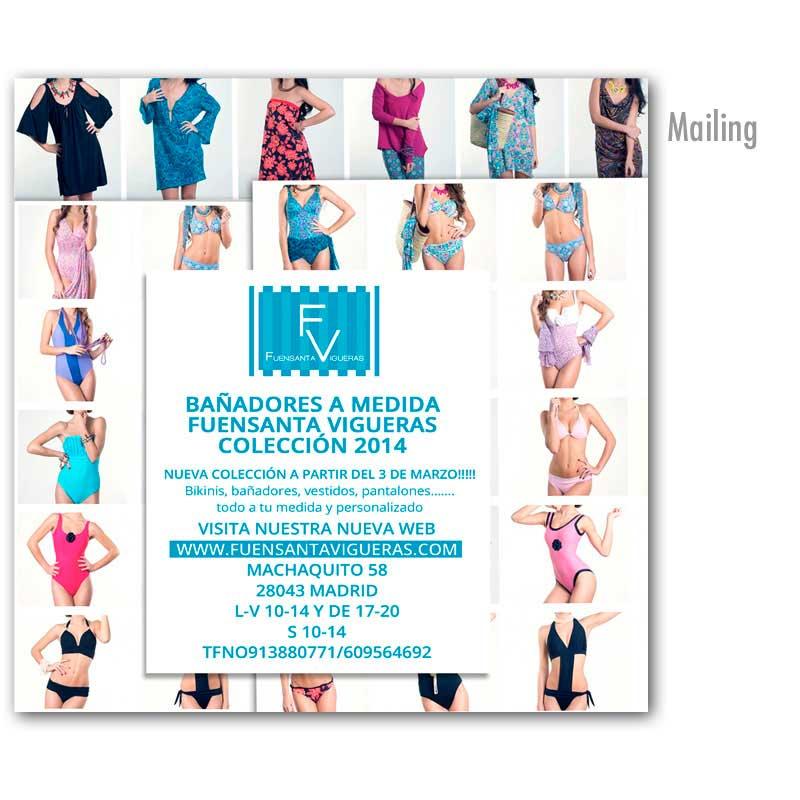 Mailing bañadores a medida FV 2014