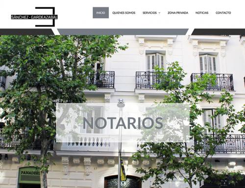 web www.sanchez-gardeazabal.es