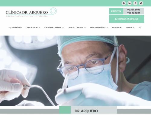 Nueva web www.clinicaarquero.es